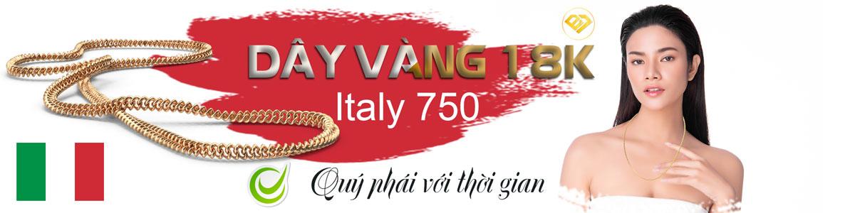 DÂY VÀNG 18K NỮ Ý