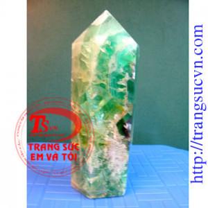 Tinh Thể xanh - trụ fluorit