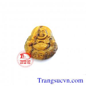 Phật di lặc đá mắt hổ to