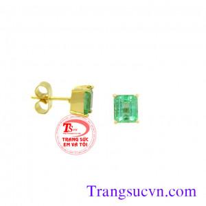 Bông Emerald Chữ nhật