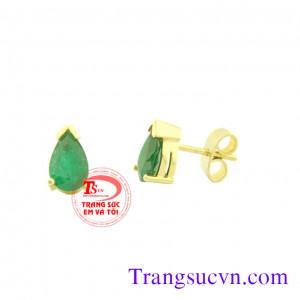 Đôi Emerald giọt nước đẹp