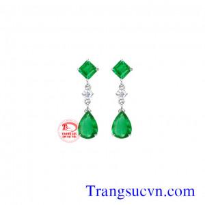 Vòng tai Emerald