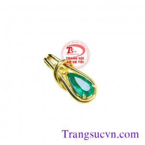 Mặt đá quý Emerald thiên nhiên đẹp