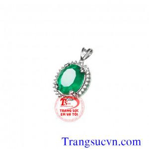 Emerald tự nhiên mặt dây