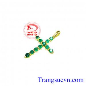 Emerald đính Thánh Giá