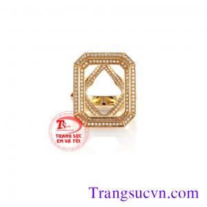 Vỏ nhẫn kim cương đẹp