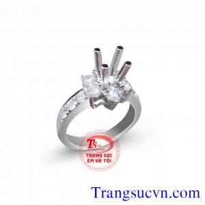 Vỏ nhẫn Diamond đẹp