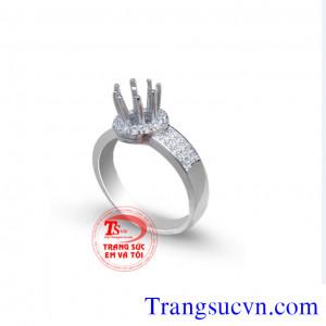 Nhẫn ổ kim cương đẹp