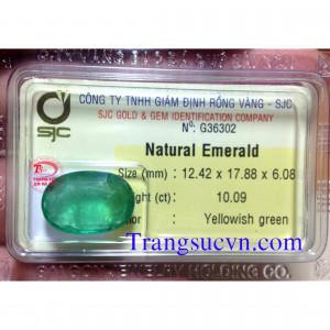 Emerald thiên nhiên 10 Carat