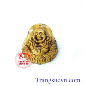 Mặt Phật di lặc đá mắt hổ