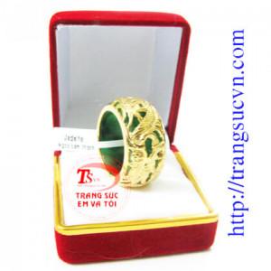 Nhẫn nam rồng ngọc jadeite