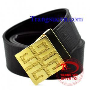 Thắt lưng vàng 18k chữ Cổ
