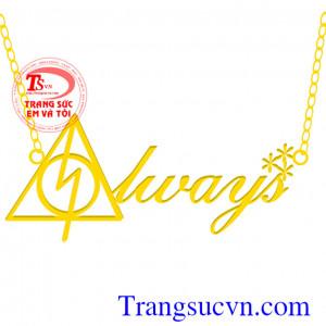 Mặt dây vàng thương hiệu