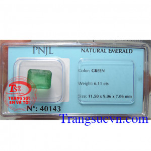 Emerald chữ nhật thiên nhiên