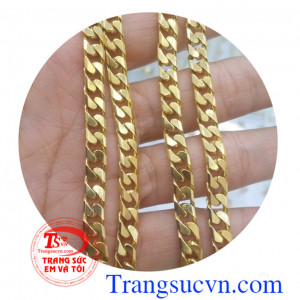 Kiểu dây chuyền vàng Ý