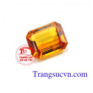 Sapphire vàng 4.60 Ct
