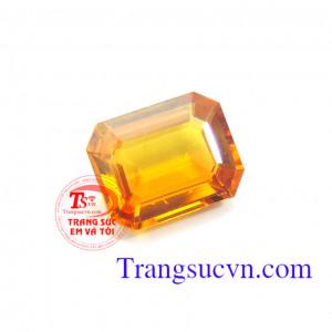 Đá Quý sapphire vàng 4.20 Ct