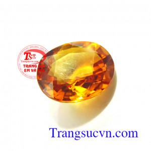 Sapphire vàng 5.25 Ct