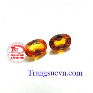 Đôi bông tai sapphire vàng