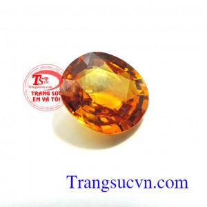 Sapphire vàng thiên nhiên 5.05 ct