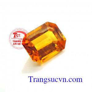 Sapphire vàng 3.7ct