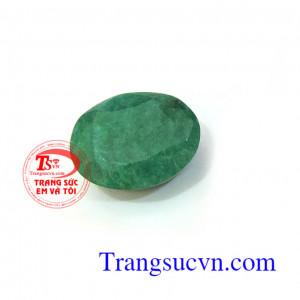 Emerald thiên nhiên Oval/Facet