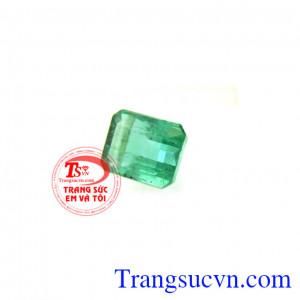 Emerald chữ nhật trong suốt