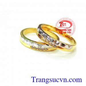 Đôi nhẫn cưới giá rẻ