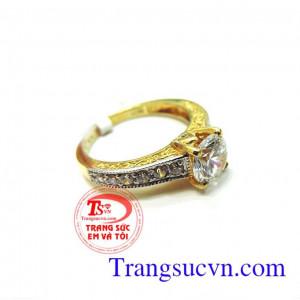 Nhẫn nữ vàng giá rẻ đẹp
