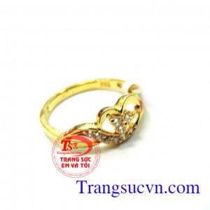Nhẫn nữ môi vàng