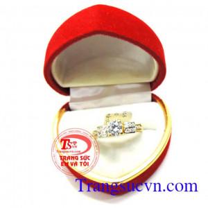 Nhẫn nữ vàng tây xinh