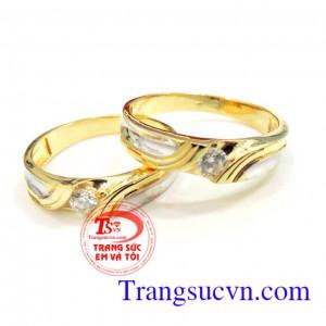 Nhẫn cưới vàng giá rẻ