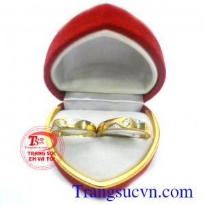 Nhẫn cưới giá rẻ đôi