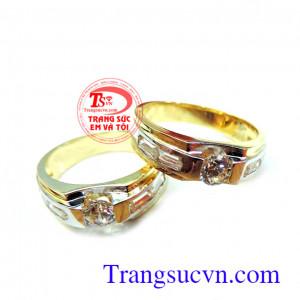 Nhẫn cưới rẻ đẹp