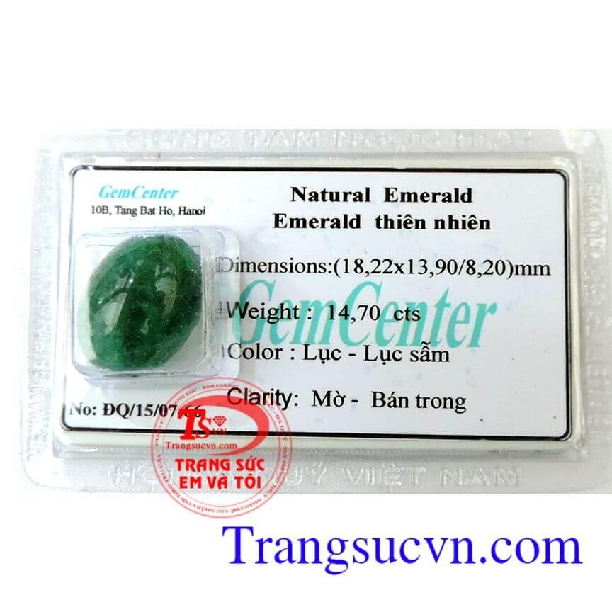 Emerald lục sẫm cao cấp
