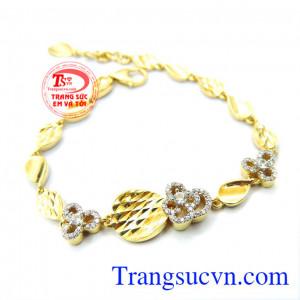Chiếc lắc vàng ITaly 18k