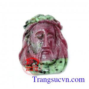 Tượng Chúa Giê su đá quý ruby