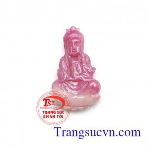 Phật bà Ruby thiên nhiên