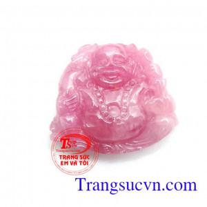 Phật di lặc ruby thiên nhiên