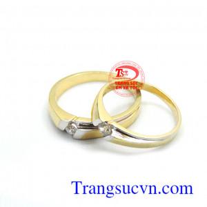 Nhẫn cưới tình yêu dài lâu