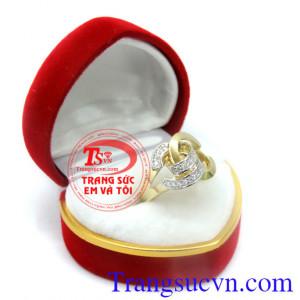 Nhẫn nữ Chanel cách điệu