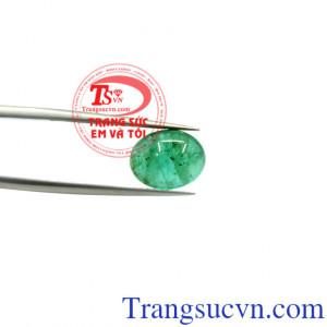 Mặt nhẫn Emerald thiên nhiên