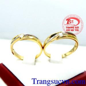 Nhẫn cưới vàng giá rẻ đẹp