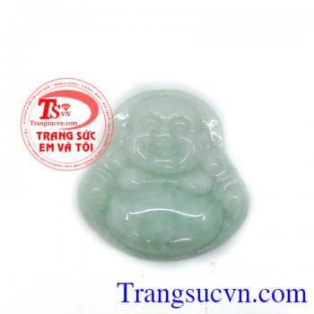 Phật di lặc thiên nhiên màu xanh