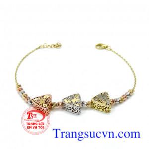 Lắc nữ vàng italya