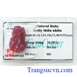 Natural Ruby ép vỉ
