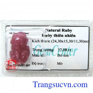 Ruby thiên nhiên ép vỉ TSVN