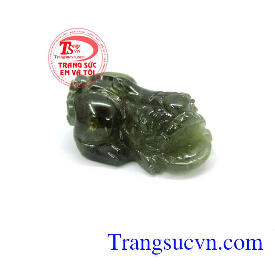 Đá sapphire tỳ hưu thiên nhiên TSVN
