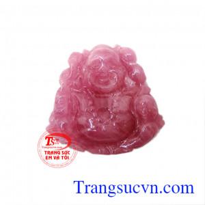 Phật Di lặc ruby cười rạng rỡ