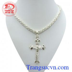 Bộ mặt bạc thánh giá đẹp